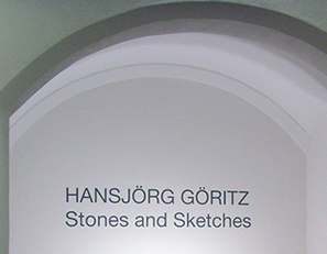 Studio Hansjörg Göritz - Stones and Sketches - Exhibition Museum Wiesbaden