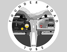 Studio Hansjörg Göritz - Thunder Road Tubs Club Badge Design - Tennessee